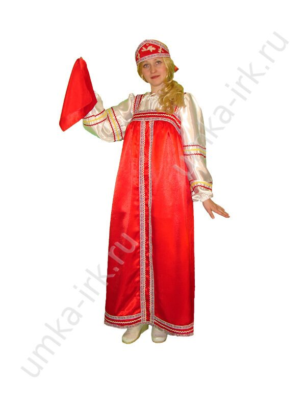 Русский сарафан, атлас
