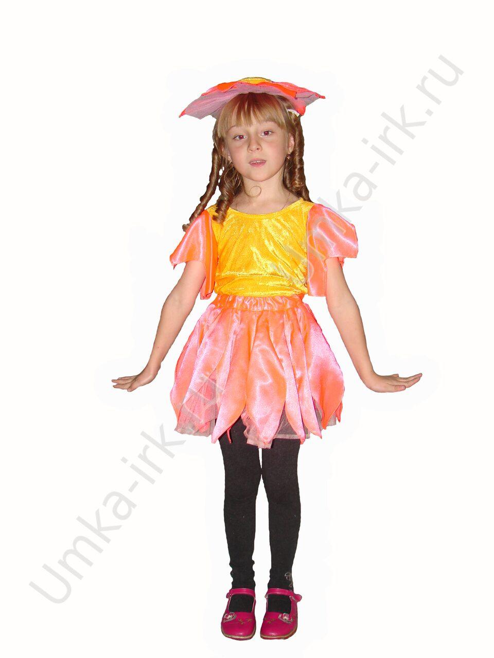 Карнавальный костюм цветы своими руками