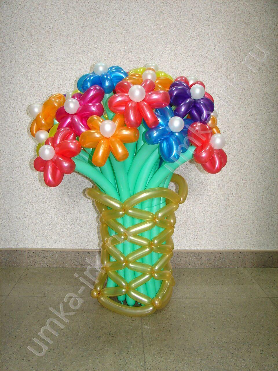 Поделки с воздушных шаров фото